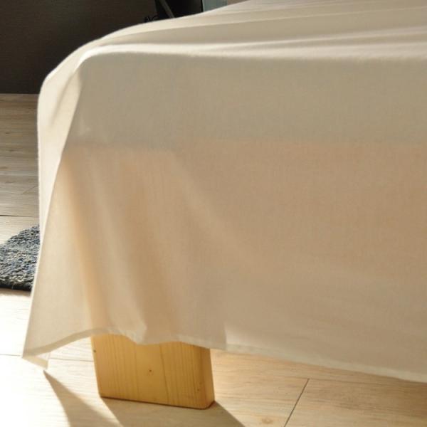 フラットシーツ シングル 日本製 綿100% マットレスカバー SL FLATシーツ ベッドシーツ ホテル 旅館 ベッドカバー 送料無料 sheet-cocoron 07