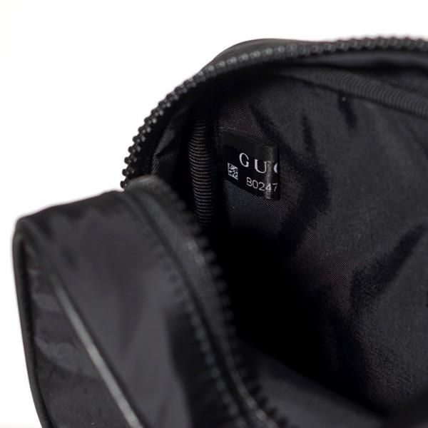 GUCCI グッチ 持ち手付き GGナイロン メンズ クラッチバッグ セカンドバッグ ブラック 510338 K28AN 1000【純正紙袋リボン選択可】黒 新品