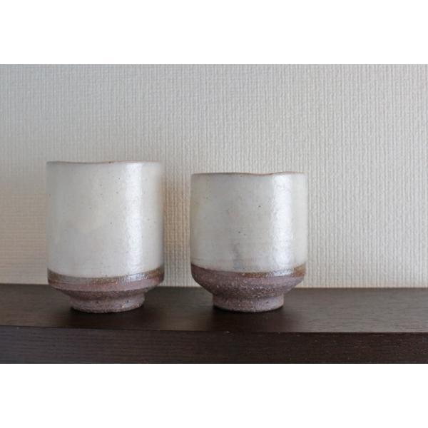 粉引き 湯呑セット|shibokusansou