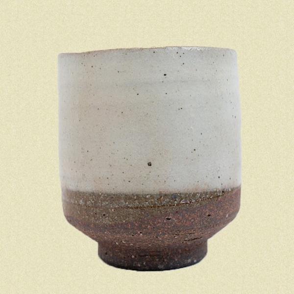 粉引き 湯呑セット|shibokusansou|03