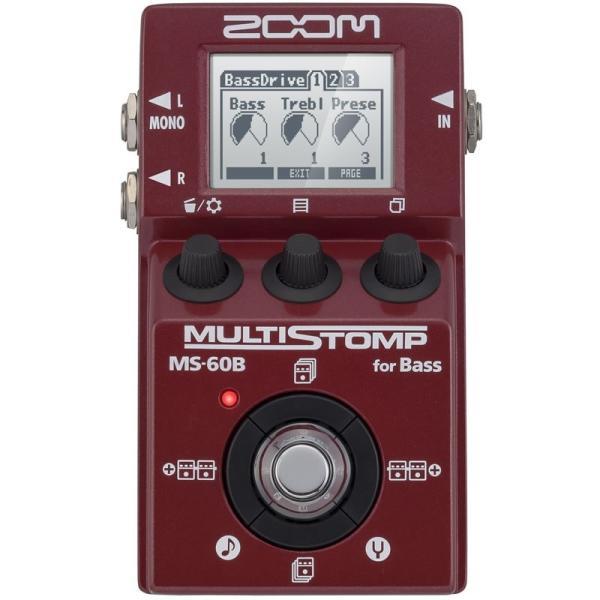 ZOOM ズーム ベース用マルチエフェクター MULTI STOMP MS-60B [for Bass] shibuya-ikebe