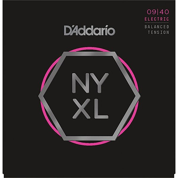 D'Addario ダダリオ エレキギター弦 NYXL Series Electric Guitar Strings Balanced Tension (NYXL0940BT Super Light, 009-040)