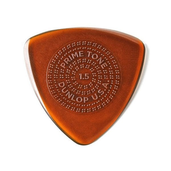 Dunlop (Jim Dunlop) Primetone Sculpted Plectra PICK With Grip (1.5mm)(Triangle 512P) ×3枚セット