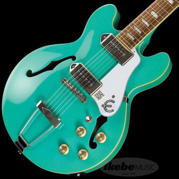 Epiphone エピフォン フルアコギター Casino Coupe (Turquoise)