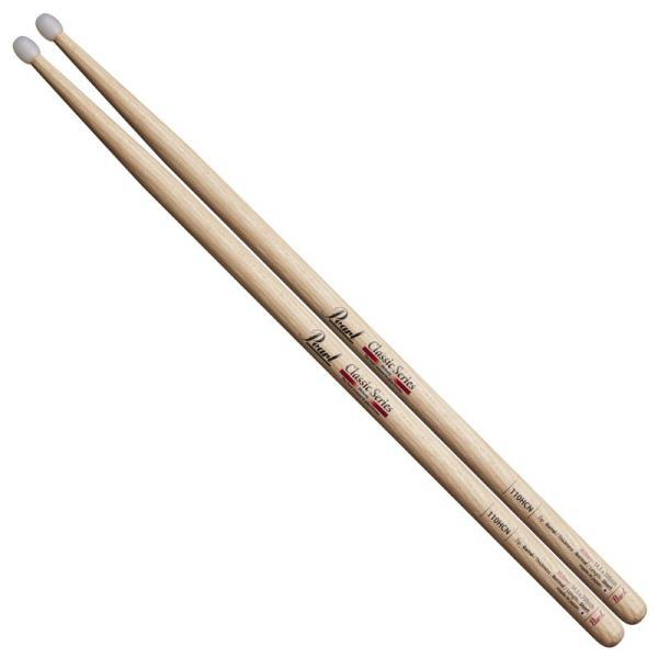 Pearl パール ドラムスティック 110HC-N [Classic Series Nylon Tip / Hickory]【新製品】 shibuya-ikebe