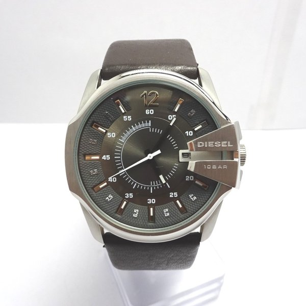 Ft535341 ディーゼル 腕時計 DZ-1206 グレー×シルバー系 グレー文字盤 メンズ DIESEL 中古【質みなみ・二又瀬店】|shichi-minami