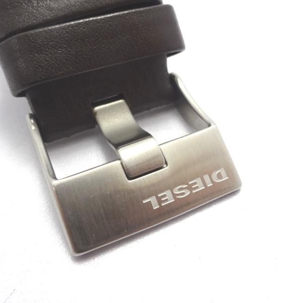 Ft535341 ディーゼル 腕時計 DZ-1206 グレー×シルバー系 グレー文字盤 メンズ DIESEL 中古【質みなみ・二又瀬店】|shichi-minami|14
