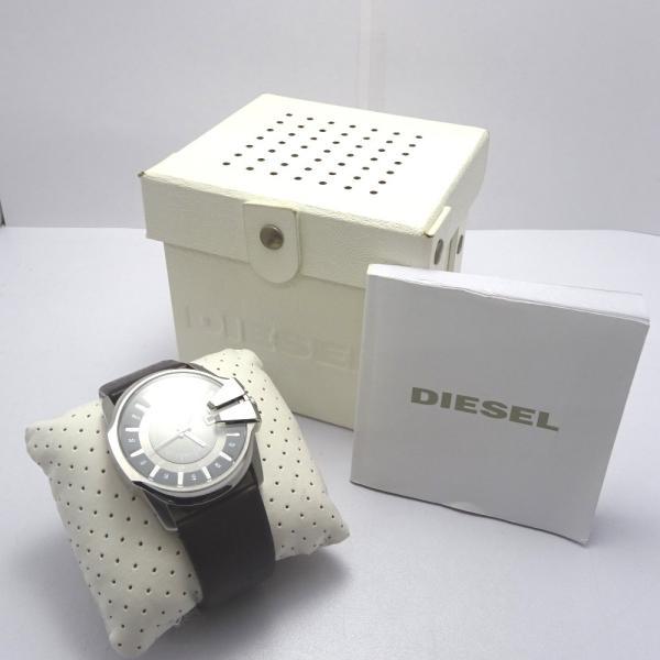 Ft535341 ディーゼル 腕時計 DZ-1206 グレー×シルバー系 グレー文字盤 メンズ DIESEL 中古【質みなみ・二又瀬店】|shichi-minami|15
