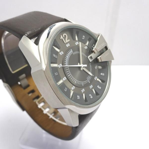 Ft535341 ディーゼル 腕時計 DZ-1206 グレー×シルバー系 グレー文字盤 メンズ DIESEL 中古【質みなみ・二又瀬店】|shichi-minami|03