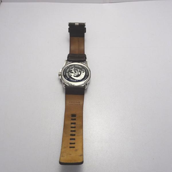 Ft535341 ディーゼル 腕時計 DZ-1206 グレー×シルバー系 グレー文字盤 メンズ DIESEL 中古【質みなみ・二又瀬店】|shichi-minami|05
