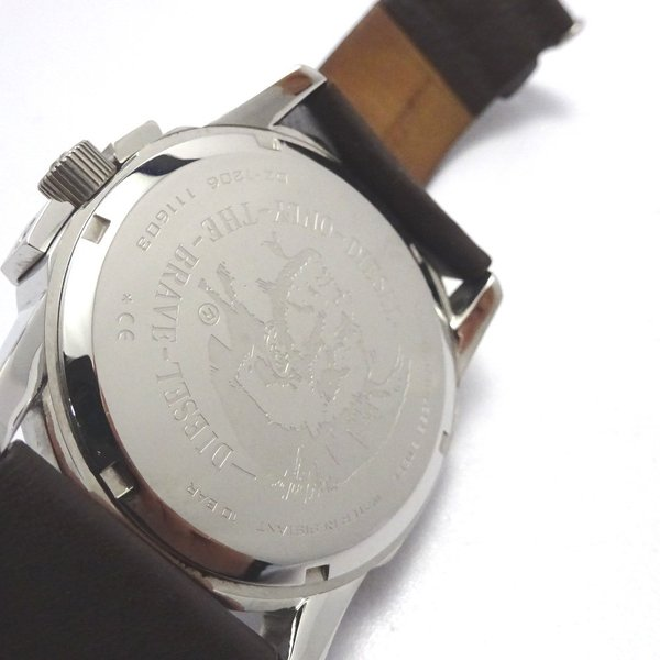Ft535341 ディーゼル 腕時計 DZ-1206 グレー×シルバー系 グレー文字盤 メンズ DIESEL 中古【質みなみ・二又瀬店】|shichi-minami|06