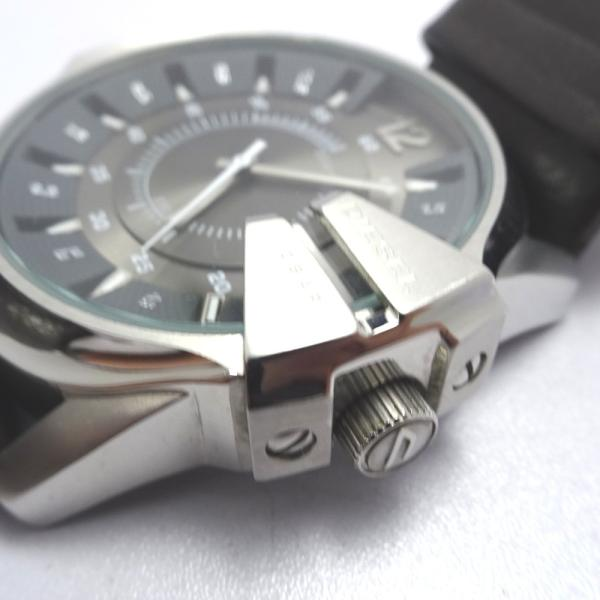 Ft535341 ディーゼル 腕時計 DZ-1206 グレー×シルバー系 グレー文字盤 メンズ DIESEL 中古【質みなみ・二又瀬店】|shichi-minami|07