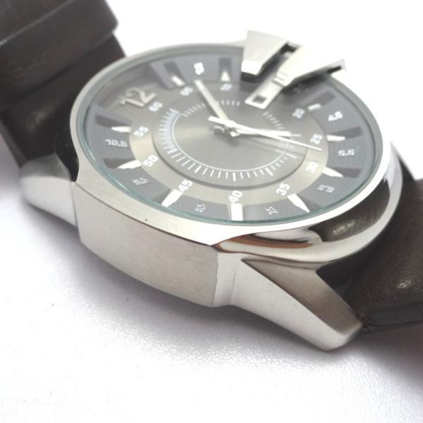 Ft535341 ディーゼル 腕時計 DZ-1206 グレー×シルバー系 グレー文字盤 メンズ DIESEL 中古【質みなみ・二又瀬店】|shichi-minami|08