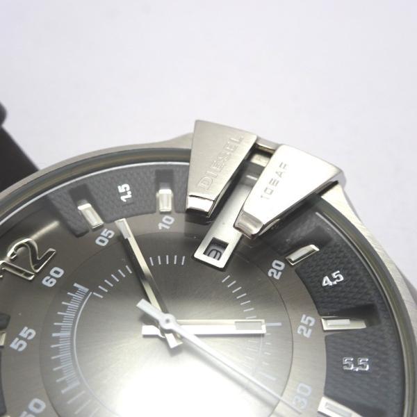 Ft535341 ディーゼル 腕時計 DZ-1206 グレー×シルバー系 グレー文字盤 メンズ DIESEL 中古【質みなみ・二又瀬店】|shichi-minami|09