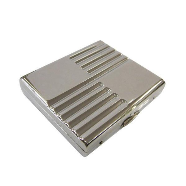 シガレットケース コルツ COLTS メタル シルバーポリッシュ ミラー スリム手巻き用 シャグ 20本 メール便250円対応