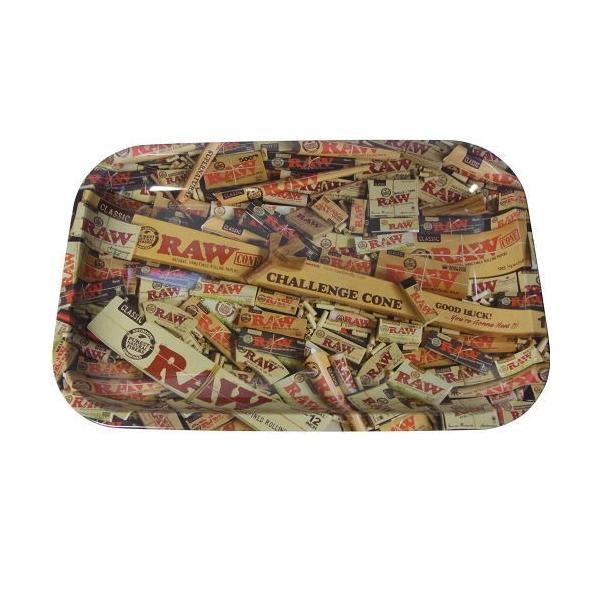 RAW ロー ミックス メタルトレー スモールサイズ シャグ 喫煙具 ロウ 27.5×17.5センチ メール便250円対応