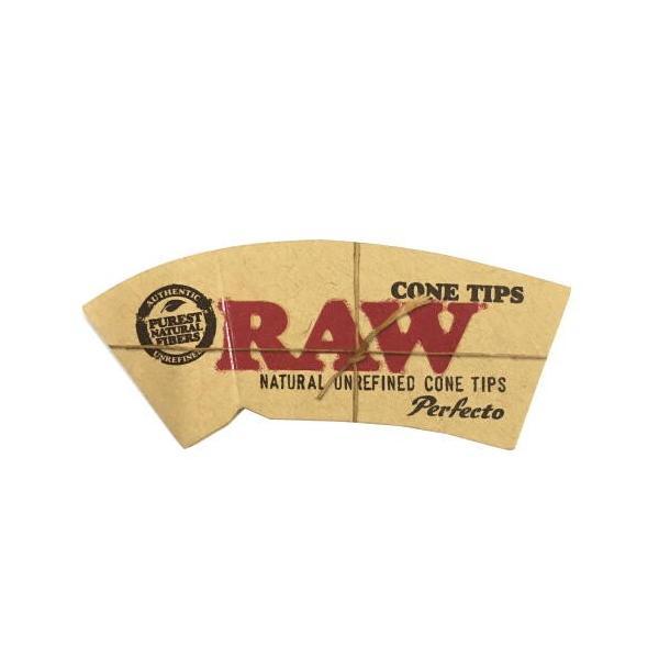 RAW ロー コーンチップス 32枚入り ロールフィルター 喫煙具 手巻きタバコ シャグ ロウ  メール便250円対応