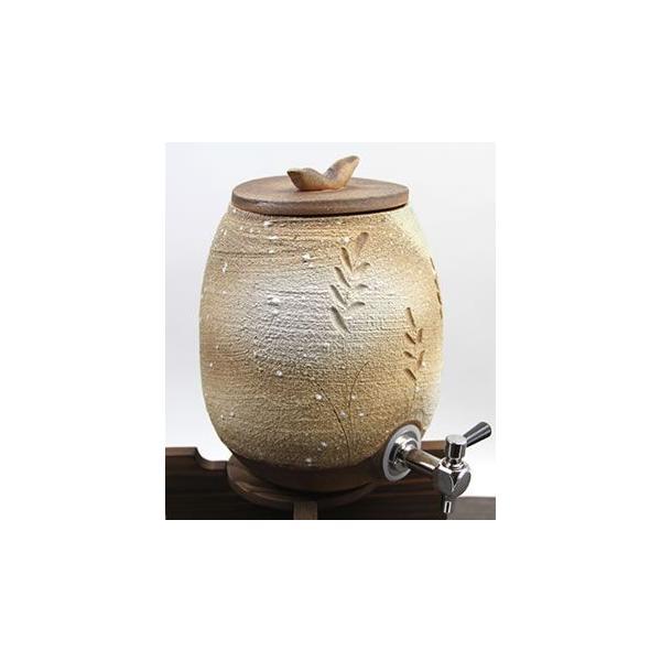 やきもの 信楽焼焼酎サーバー 信楽 穂の香焼酎サーバー 陶器サーバー 焼酎ビン ss-0106 焼酎が格段に美味しくなる しがらきやき 瓶 焼き物