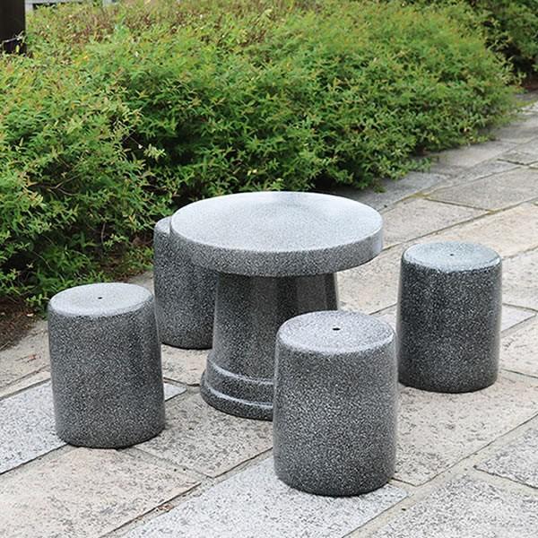 陶器テーブル 20号 信楽焼ガーデンテーブル お庭 ベランダ 庭園セット ガーデンテーブルセット 陶器 イス 信楽焼テーブル ガーデンセット やきもの 庭用 te-0049