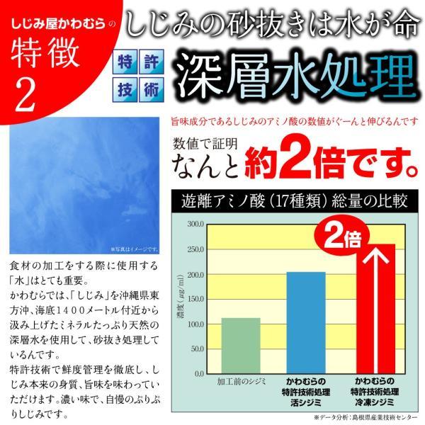 ふるさと納税でも大人気 しじみ 島根県・宍道湖産冷凍しじみ Mサイズ 2kg(2キロ)|shijimiyakawamura|05