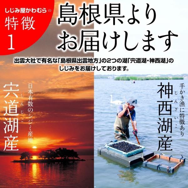 【激得企画】島根県・宍道湖産冷凍しじみ Lサイズ 1kg|shijimiyakawamura|04