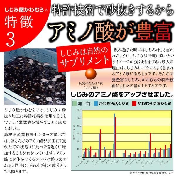 【激得企画】島根県・宍道湖産冷凍しじみ Lサイズ 1kg|shijimiyakawamura|06