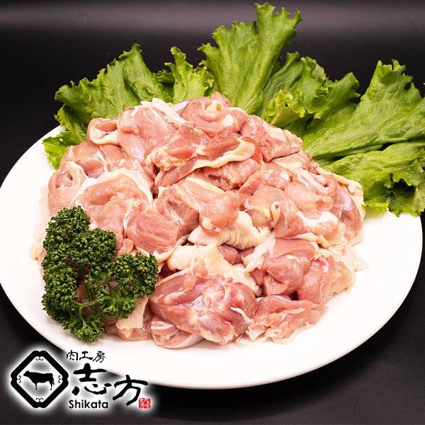 国内産 鶏肉 もも カット品 メガ盛り 300g×5パック 唐揚げ から揚げ からあげ 親子丼 焼き鳥 鶏料理|shikatameat|03