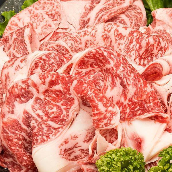 黒毛和牛 肩ロース リブロース 切り落とし 500g 霜降り しゃぶしゃぶ すき焼き 牛肉 shikatameat 03