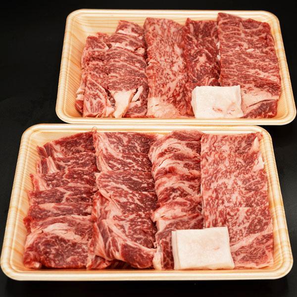 黒毛和牛 肩ロース・リブロース 焼肉用 1kg ギフトに最適 焼肉 バーベキュー BBQ 牛肉 焼き肉|shikatameat|04