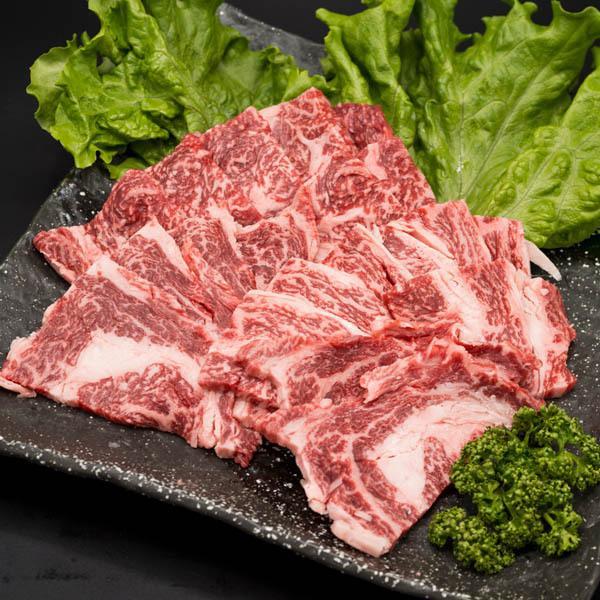 黒毛和牛 肩ロース・リブロース 焼肉用 500g 牛肉 焼き肉|shikatameat|02