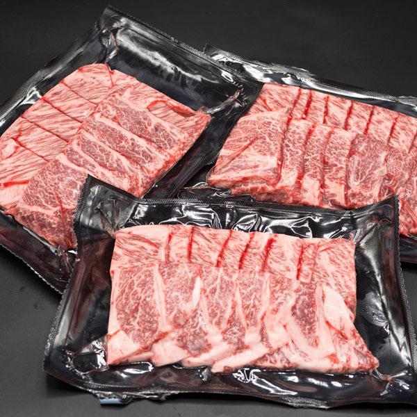 黒毛和牛 肩ロース 焼肉用 900g (300g×3セット) 焼肉 バーベキュー BBQ 牛肉 焼き肉|shikatameat|04