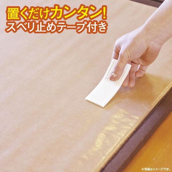ユニット畳 置き畳 い草 1/4畳 ふんわり鈴蘭 41×82×1.8cm NA|shikimonoya5o5o|04