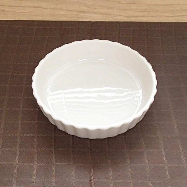 タルト パイ皿 12.5cm 白 ボンクジィーン おしゃれ 業務用 洋食器 美濃焼 k13120097