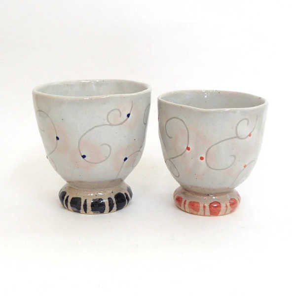 夫婦茶碗 夫婦湯のみ ギフトセット 春風 美濃焼 8y450-09-10-11-12|shikisaionline|04