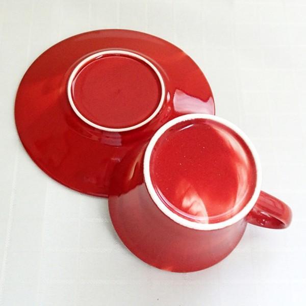 コーヒーカップ ソーサー マーブル 赤 和陶器 おしゃれ 美濃焼 業務用  9a778-18-6g shikisaionline 04