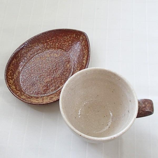 コーヒーカップ ソーサー 5客セット アメリカン 流砂丘 和陶器 おしゃれ 業務用 美濃焼|shikisaionline|02