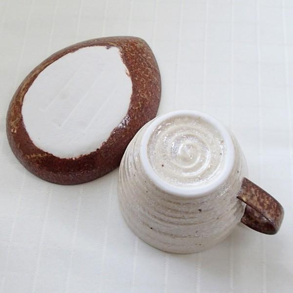 コーヒーカップ ソーサー 5客セット アメリカン 流砂丘 和陶器 おしゃれ 業務用 美濃焼|shikisaionline|03