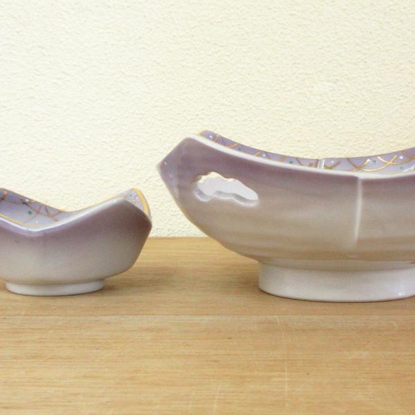 刺身鉢 ちょこ 醤油皿 セット 紫武蔵野四方 刺身皿 和食器 業務用 美濃焼  9a18-9-10|shikisaionline|02