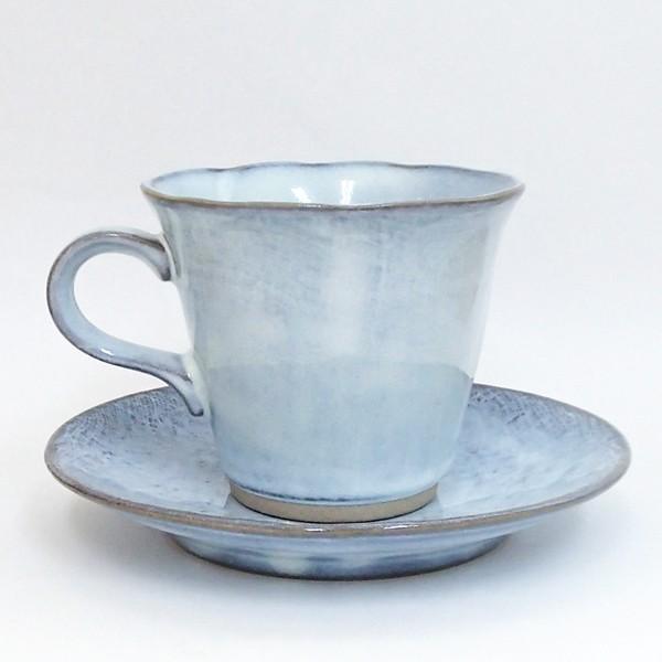 コーヒーカップ ソーサー 黒陶均窯 和陶器 おしゃれ 美濃焼 業務用|shikisaionline|02