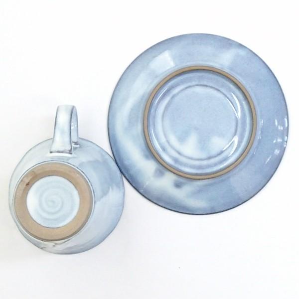 コーヒーカップ ソーサー 黒陶均窯 和陶器 おしゃれ 美濃焼 業務用|shikisaionline|04
