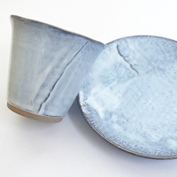 コーヒーカップ ソーサー 黒陶均窯 和陶器 おしゃれ 美濃焼 業務用|shikisaionline|05