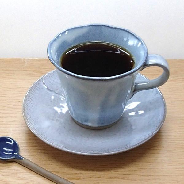 コーヒーカップ ソーサー 黒陶均窯 和陶器 おしゃれ 美濃焼 業務用|shikisaionline|06