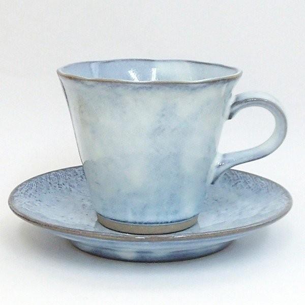 コーヒーカップ ソーサー 黒陶均窯 和陶器 おしゃれ 美濃焼 業務用|shikisaionline|07