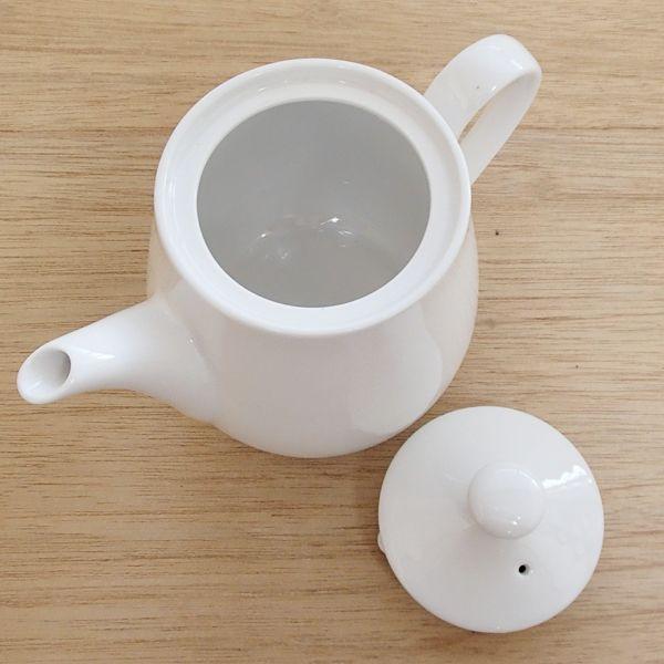 ティーポット 白 小 強化磁器 業務用食器 カフェ 食器 5y680-14-673 shikisaionline 02