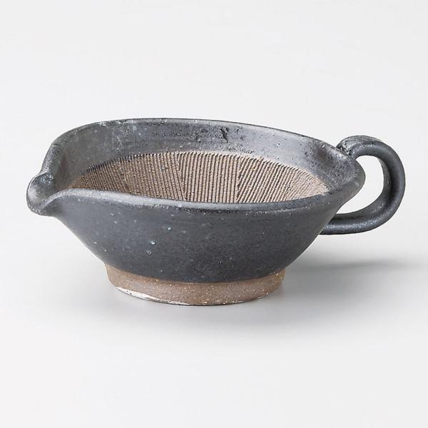 すり鉢ドレッシング まいん黒ごまだれ小鉢 業務用 美濃焼 9d38902-058