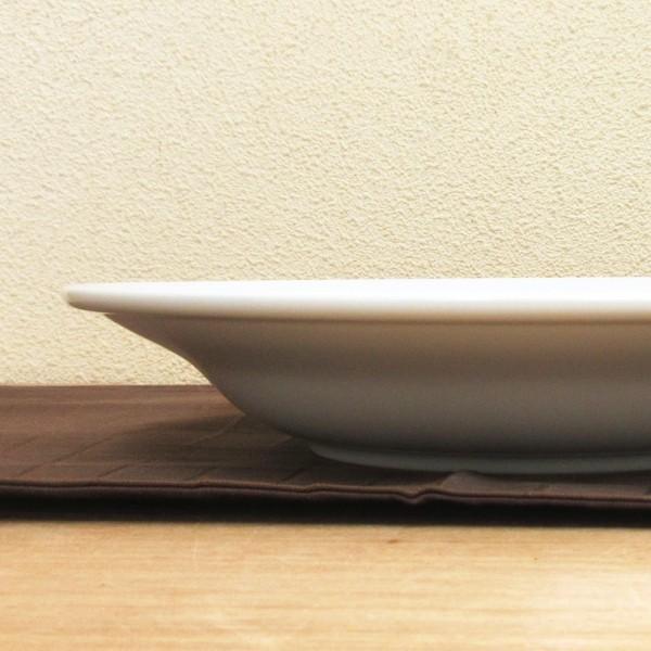 深皿 24.5cm スープ皿 9.5インチ ホテルベーシック 玉渕 白 洋食器 業務用 9d68522-478|shikisaionline|02