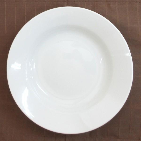深皿 24.5cm スープ皿 9.5インチ ホテルベーシック 玉渕 白 洋食器 業務用 9d68522-478|shikisaionline|03