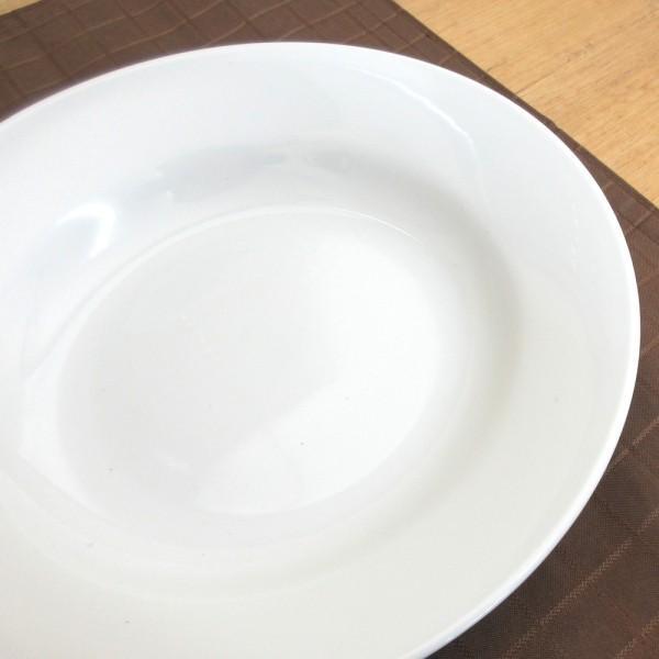深皿 24.5cm スープ皿 9.5インチ ホテルベーシック 玉渕 白 洋食器 業務用 9d68522-478|shikisaionline|06
