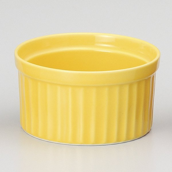 ココット皿 イエロー3.5インチスフレ 8.8cm 洋食器 業務用 9d71507-148 shikisaionline