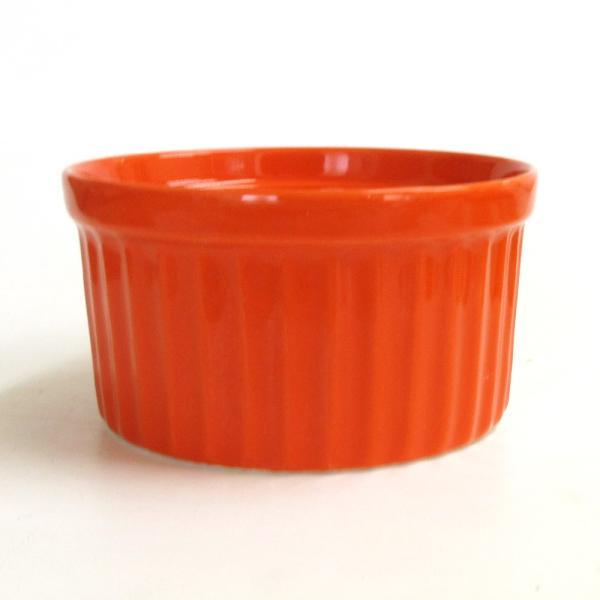 ココット皿 ビビットカラースフレM オレンジ 9cm 洋食器 業務用 shikisaionline 02